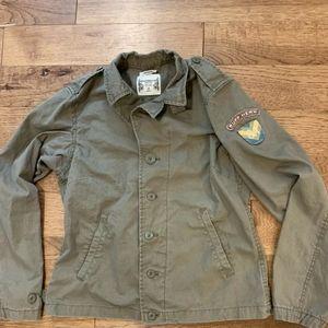 Ruff Hewn Military jacket green